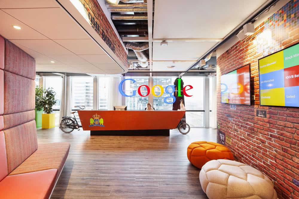Google-Amsterdam-Reception