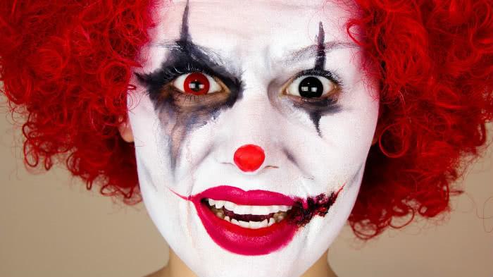 Грим Зловещий клоун