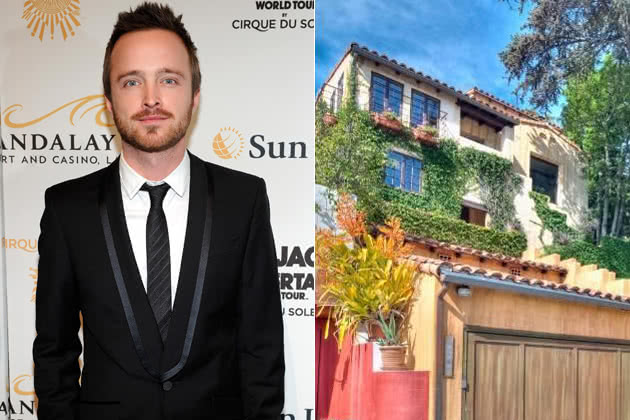 Aaron Paul & House
