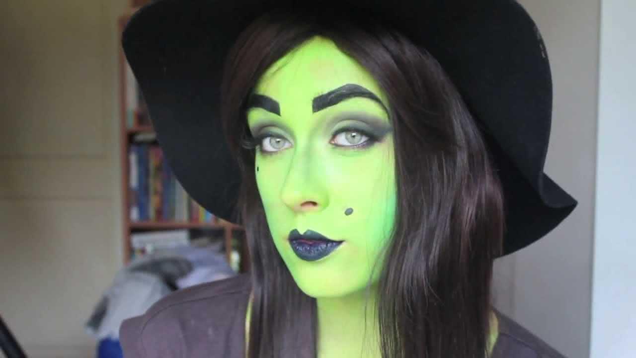Грим болотная ведьма