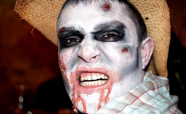 Грим кровожадный зомби