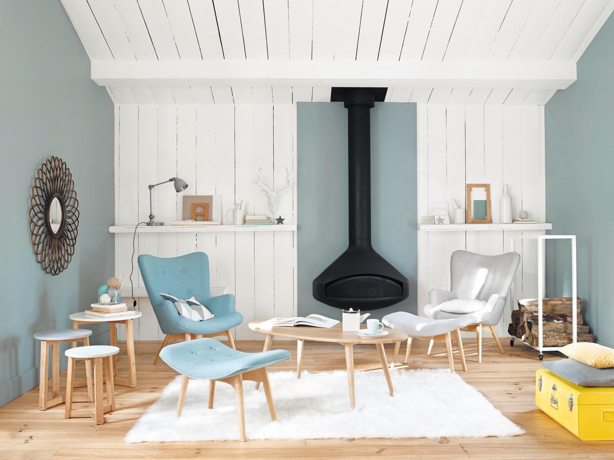 Интерьеры скандинавских загородных домов